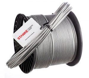 Cuerda de acero galvanizado